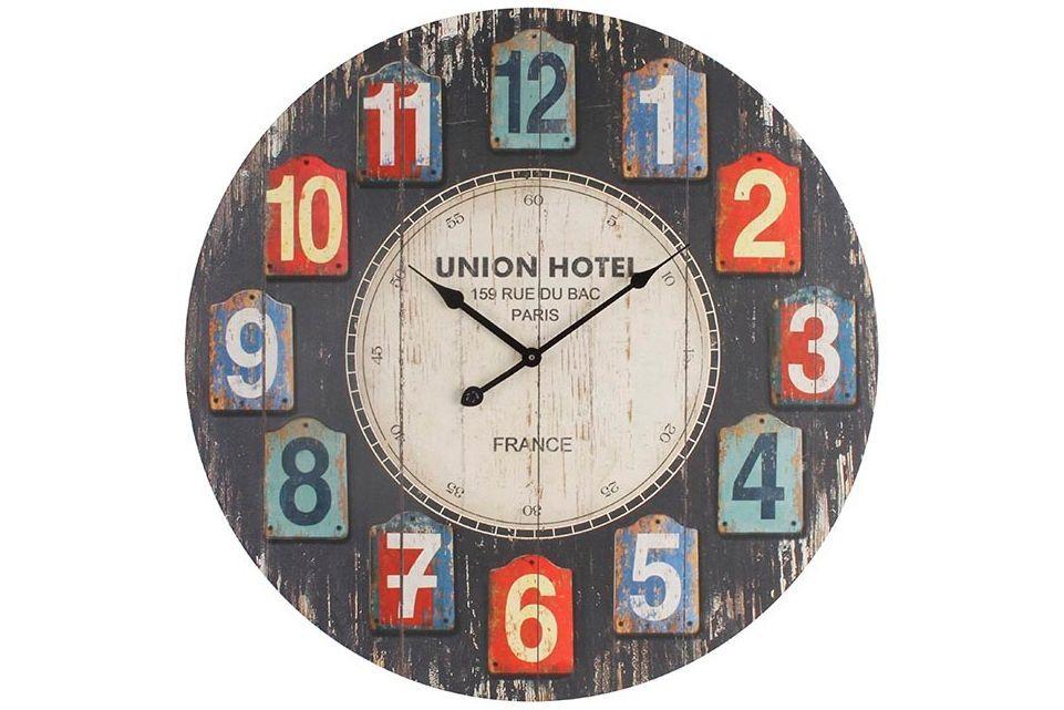 Ceas De Lemn De Perete Union Hotel Clock Decor Interior Decorating
