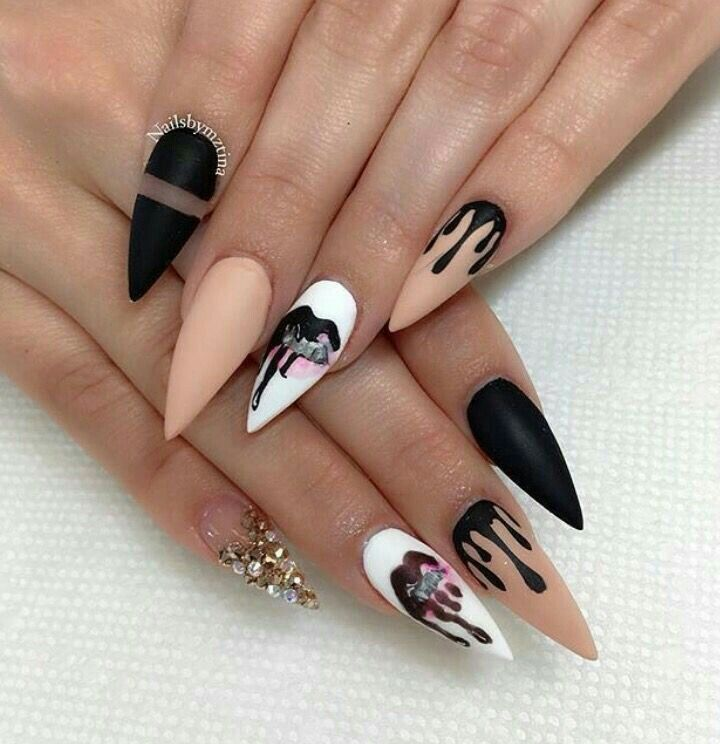 90+ Beautiful Unique and Trendy Nail Designs 2017 - 90+ Beautiful Unique And Trendy Nail Designs 2017 Cute Nails