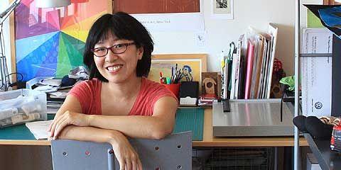 Ilustradora Suzy Lee tem livros adotados em escolas brasileiras