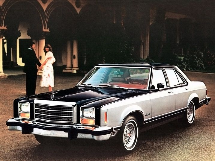 Ford Granada Ghia Sedan When America Needs A Better Idea
