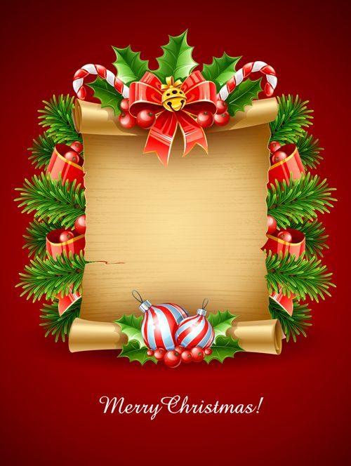 Vector Set Of Christmas Cards Backgrounds Art 04 Creative
