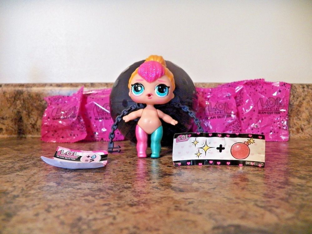 Authentic LOL  Surprise Glam Glitter Big Sis Dolls LOL Ball by MGA