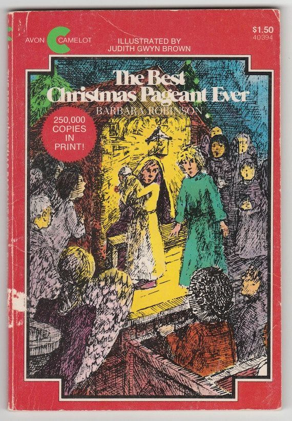 Best Christmas Pageant Ever vintage childrens book by Barbara ...