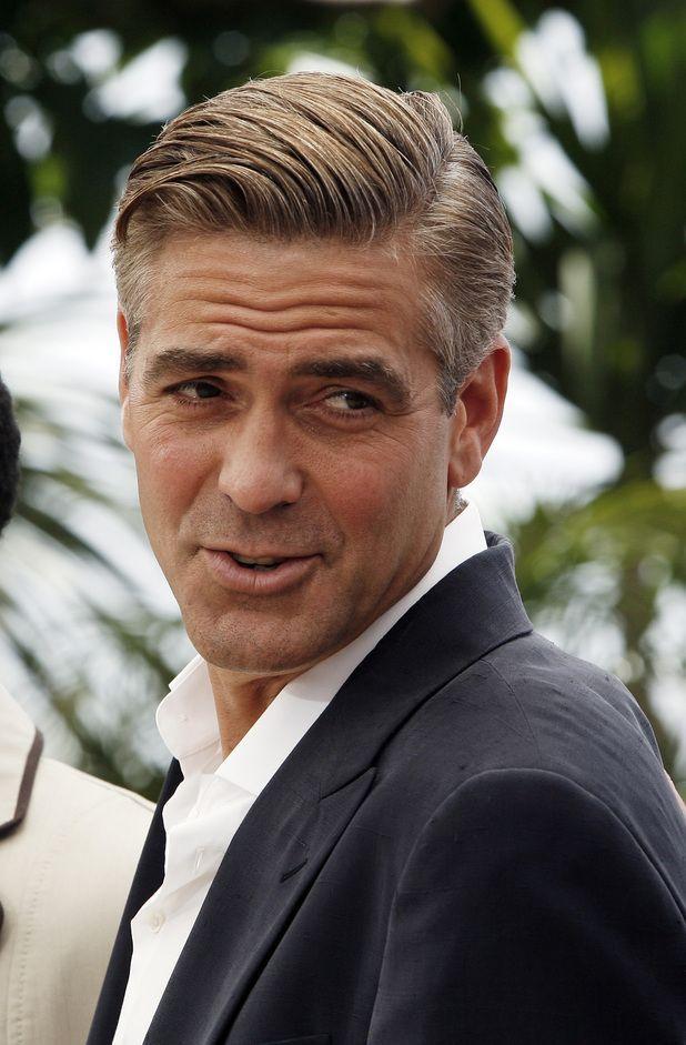 Pin By Trendfrisurenstil On Promi Frisuren Pinterest George Clooney