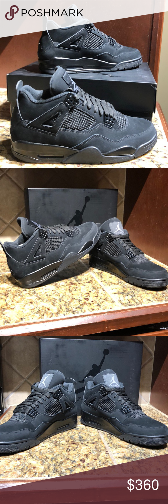 "Just In Air Jordan 4 Retro ""Black Cat"" Won these in a"