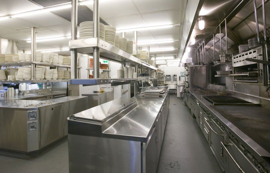 Commercial Restaurant Lighting Restaurant Kitchen Comely