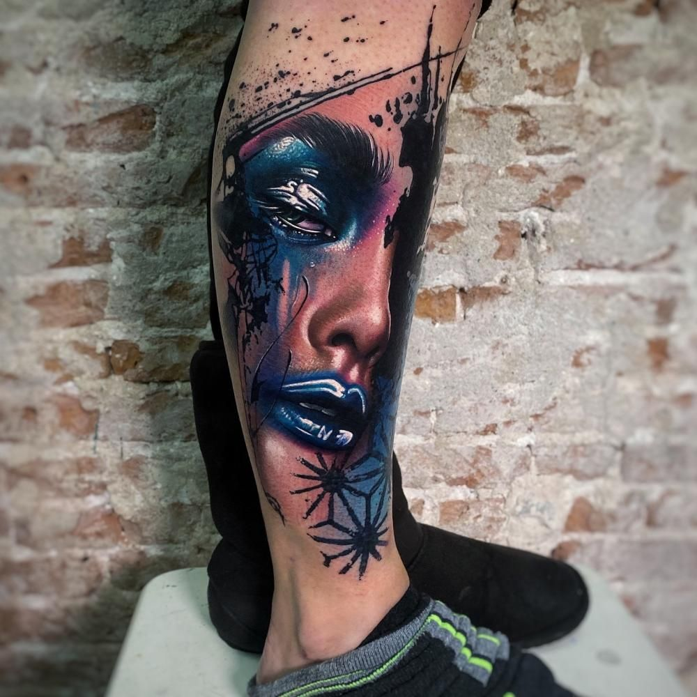 Pin On Color Tattoos