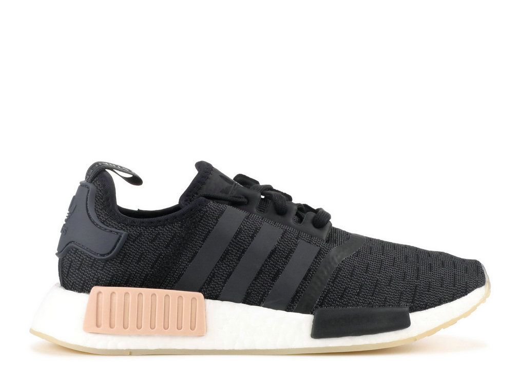 super popular d3a1c d9d37 Adidaas NMD R1 W Black Carbon White Cq2011 shoe knit Sneaker