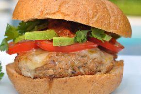 Chipotle Turkey Burgers