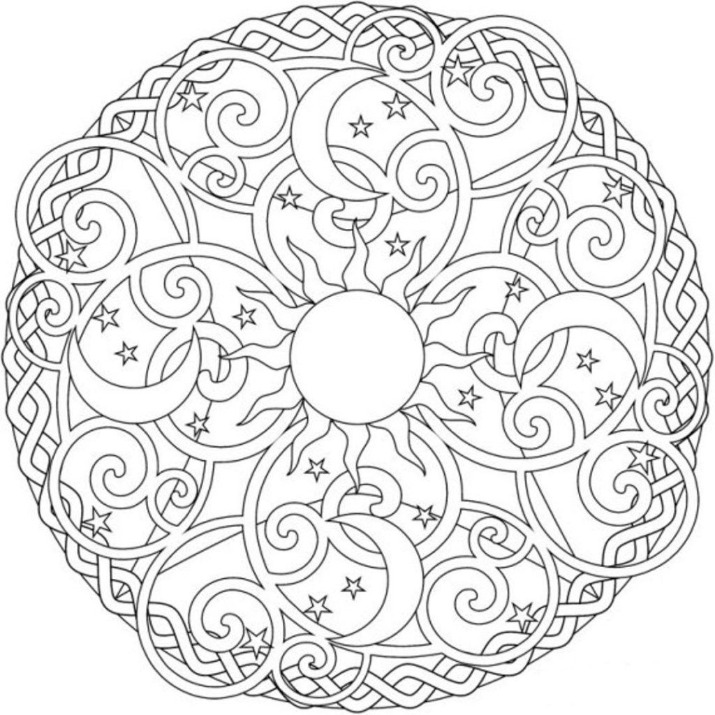 Coloring Pages Pleasing Printable Mandala Coloring Pages For Adults ...