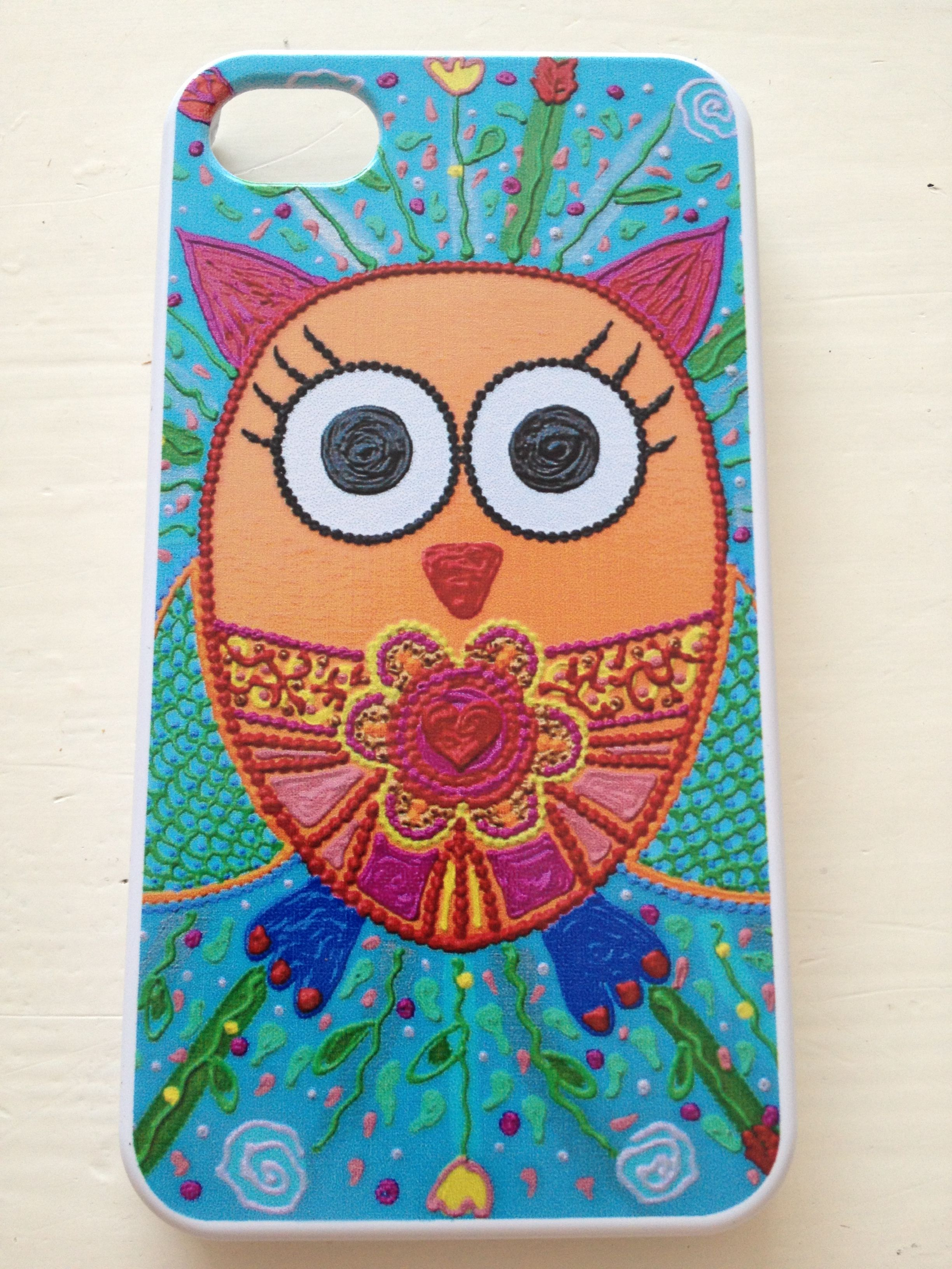 Cover mobile; iPhone 4/4s €19,50 Art by Marilyn van Raaij from The Netherlands
