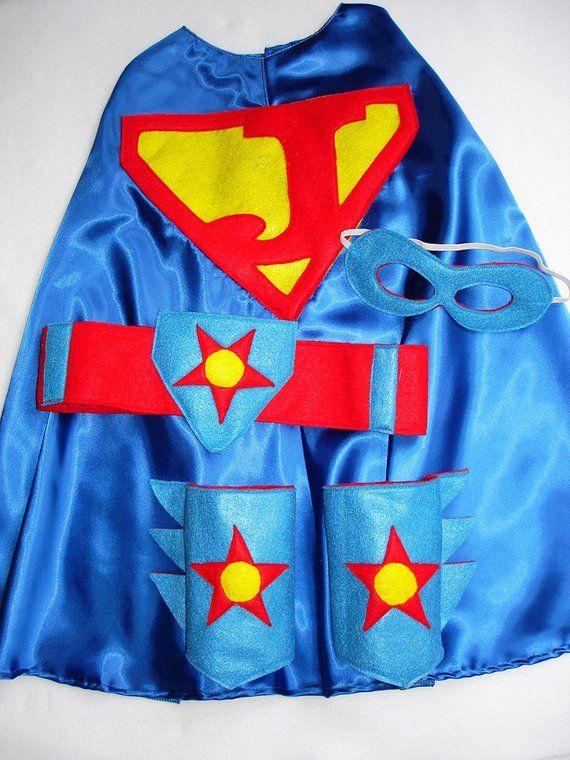Children's Custom Superhero Personalized Kids Cape Including