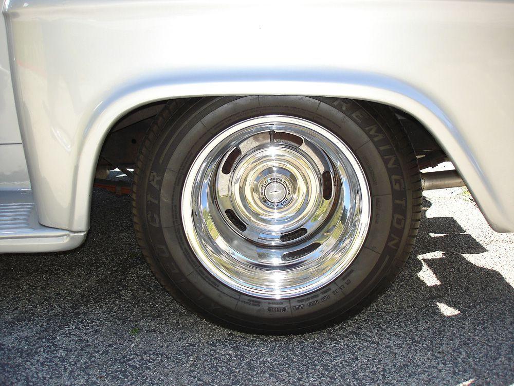 Chevy Truck Rally Wheels 15x10 Chevy Trucks Trucks Chevy