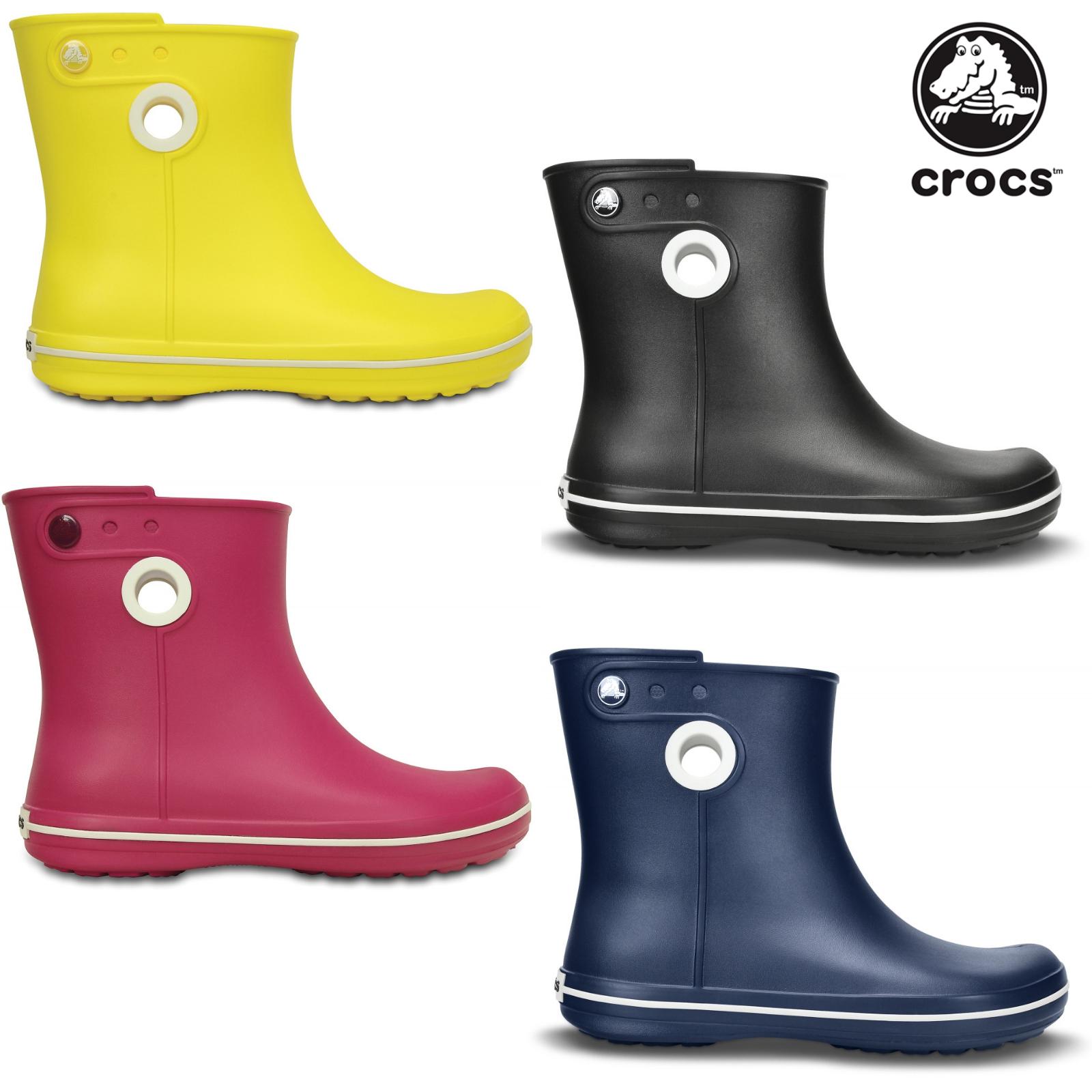Crocs Women Jaunt Shorty Boot Damen Schuhe Gummistiefel