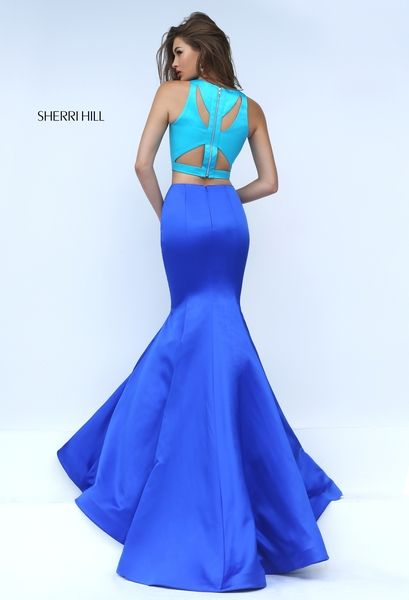 6b2dbf840f5c Sherri Hill Prom Spring 2016   50120 www.thecastlepromandbridal.com Colors   turq royal