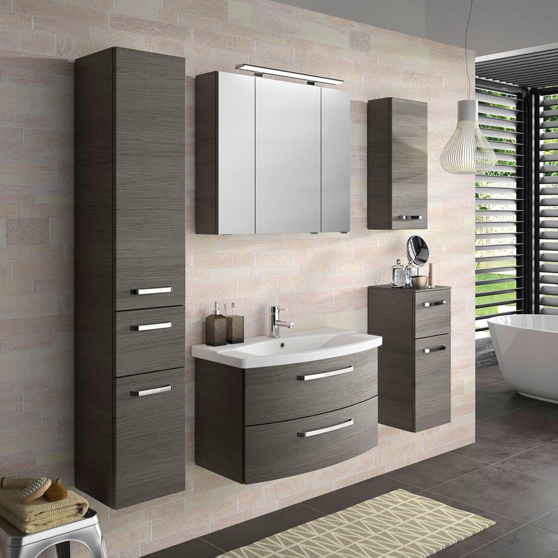 Gunstige Badmobel Fur Kleine Bader Badezimmer Hochschrank 30 Cm Breit Gunstige Badezimmermobel Set Badezimm Badezimmer Komplett Spiegelschrank Badezimmer