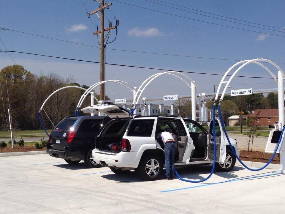 Free Vacuums at Cool Wave Car Wash Car wash, Car wash