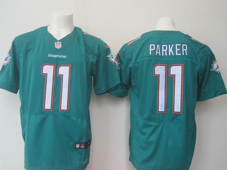 e0ca92edb Men Miami Dolphins 11 Parker green elite NFL Nike jersey