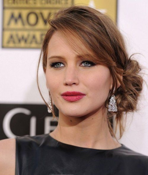 Cute Hairstyles For Prom Updos : Cute prom updo hairstyles 2015 ideas: jennifer lawrences easy