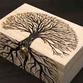 Image Result For Easy Wood Burning Patterns Tree