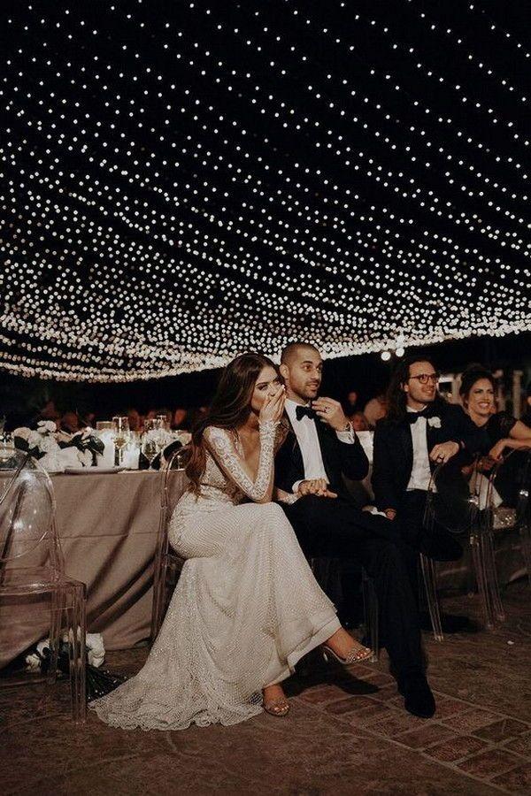 20 Incredible Night Wedding Photos #weddings