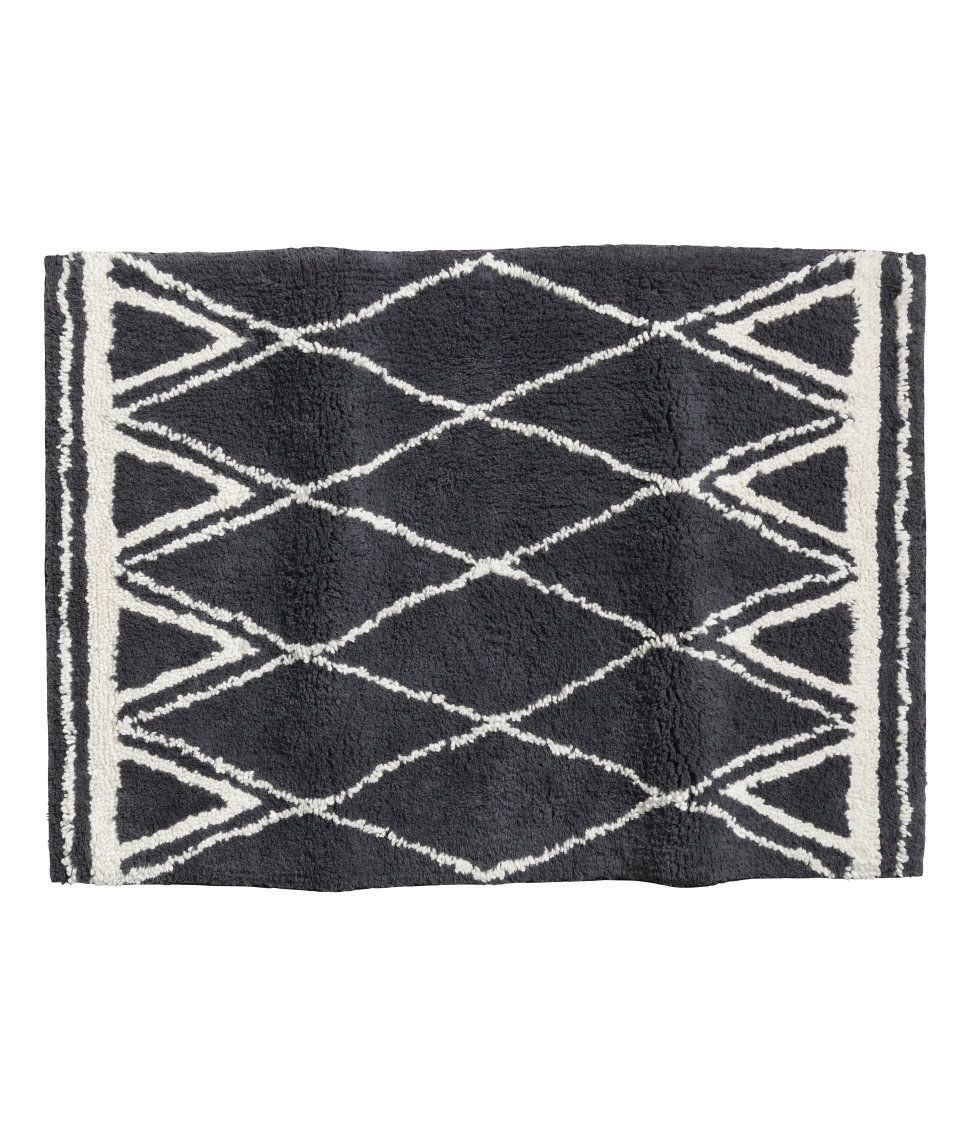 Check This Out Rectangular Bath Mat In Soft Cotton Terry With A Jacquard Weave Pattern And Non Slip Backing Do Not Use On Heated Badrumsmatta Produkter Mode