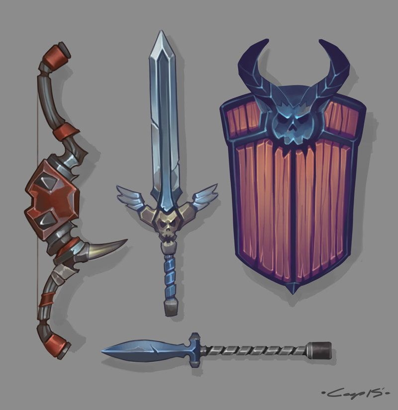 Weapon Designs, Bill Cooper on ArtStation at https://www.artstation.com/artwork/weapon-designs-073d6f90-856e-40f2-909c-111ee8b79457