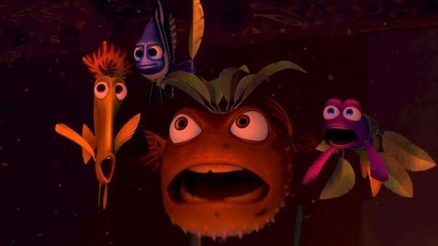 Finding Nemo Shark Bait Scene