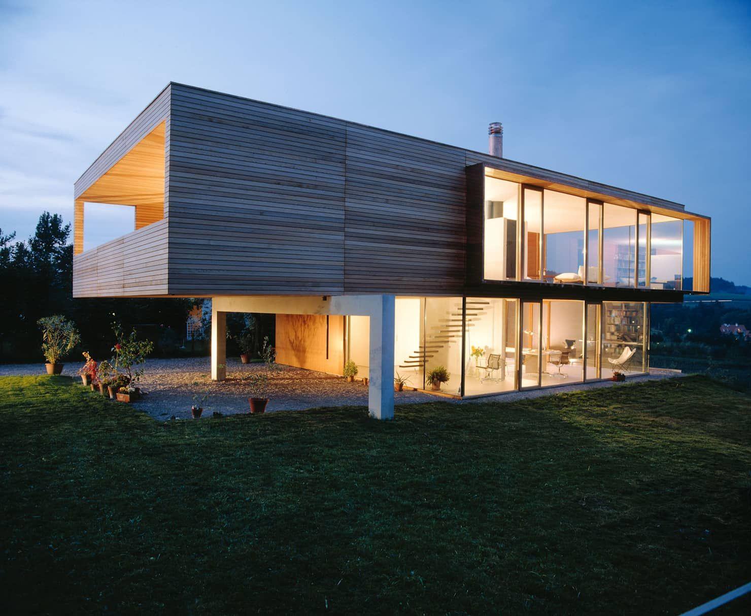 Hochbuch: Moderne Häuser Von K M Architektur