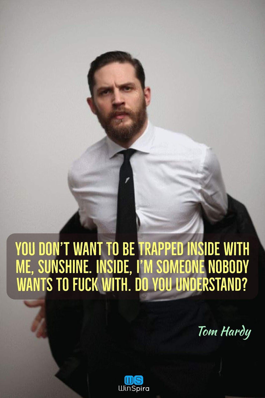 22 Most Inspiring Quotes By Tom Hardy ⚡