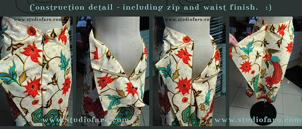 Photo of Pattern Puzzle – The Japan Skirt – no block required!