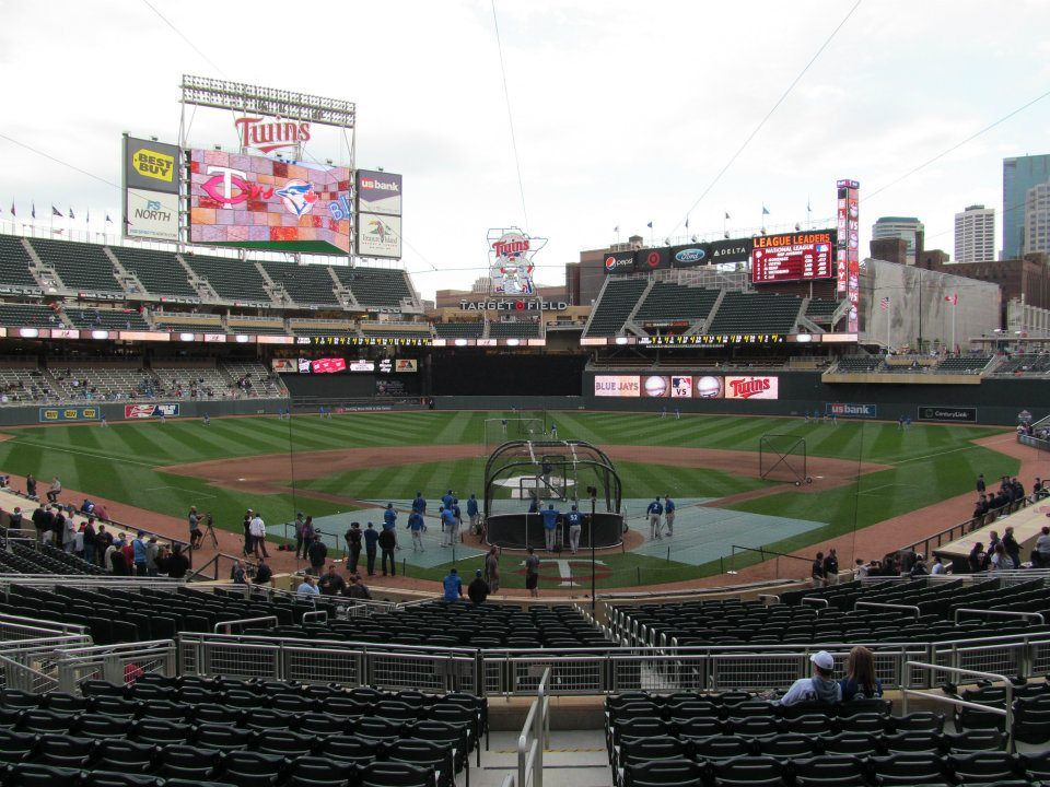 Target Field in May 2012