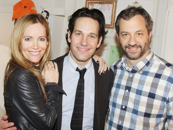 Paul Rudd welcomes THIS IS 40 collaborators Judd Apatow and Leslie Mann to GRACE