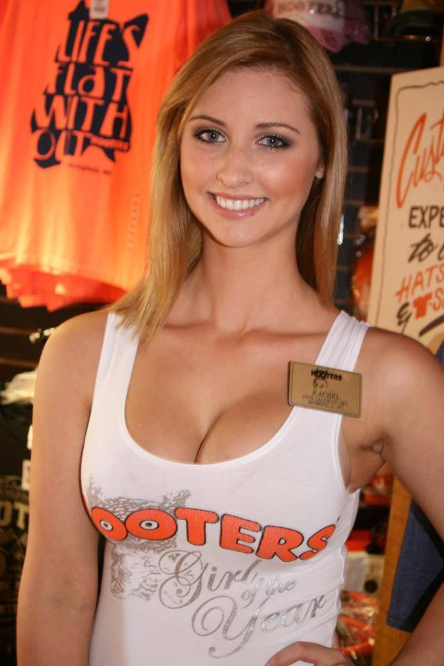 Hooters Girls  Original Hooters  Shorts With Tights -3609