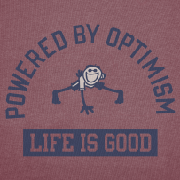 that's me!  Mrs. Optimism!