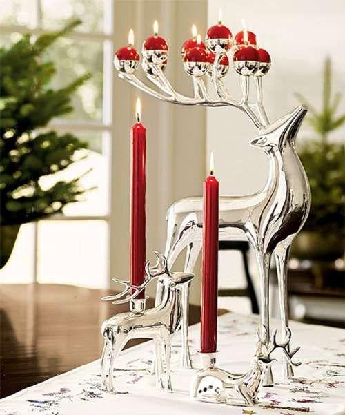 Navidad 12 Ideas para Decorar la Casa Navidad roja, Ideas para