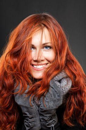 La couleur de cheveux roux