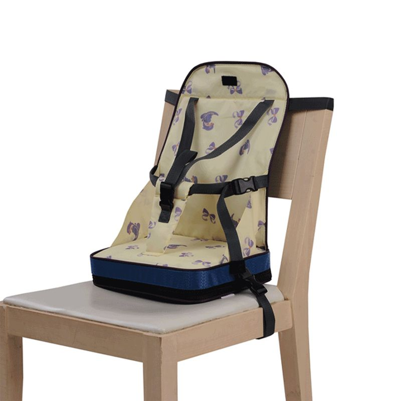 Bebe Portable Booster Voyage Chaise Haute Harnais Diner Dejeuner Alimentation Etanche Pliable Siege T0148 Travel High Chair Baby High Chair Portable High Chairs