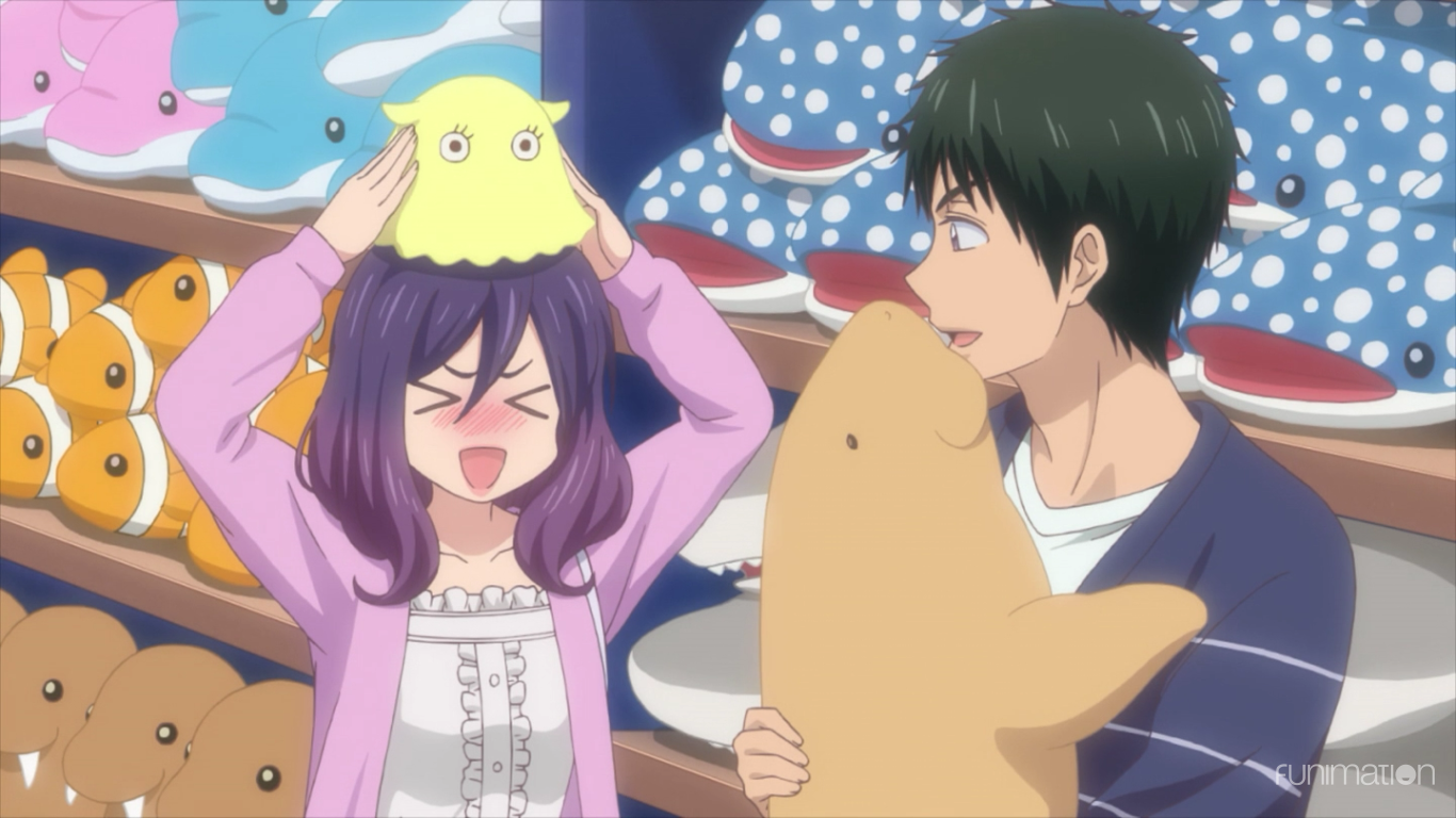 KISS HIM NOT ME kae and yuusuke date Anime chibi, Anime
