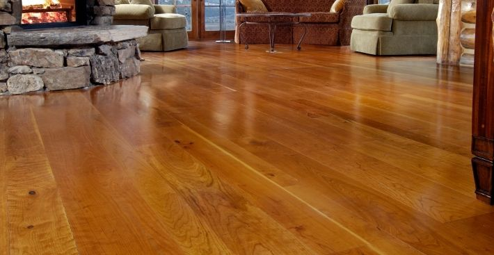 Cherry Wood Floor u0026 Prefinished Hardwood Flooring by Carlisle Wide  Plank Flooring - Carlisle Wide Plank Floors Roselawnlutheran