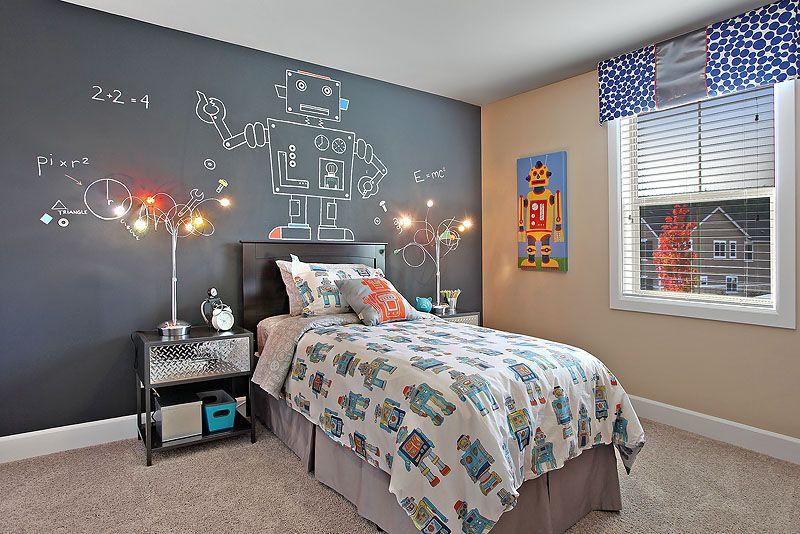 Robot Room In The Buckhorn Model At Tehaleh Kids Rooms Boys Beauteous Decor For Boys Bedroom Model