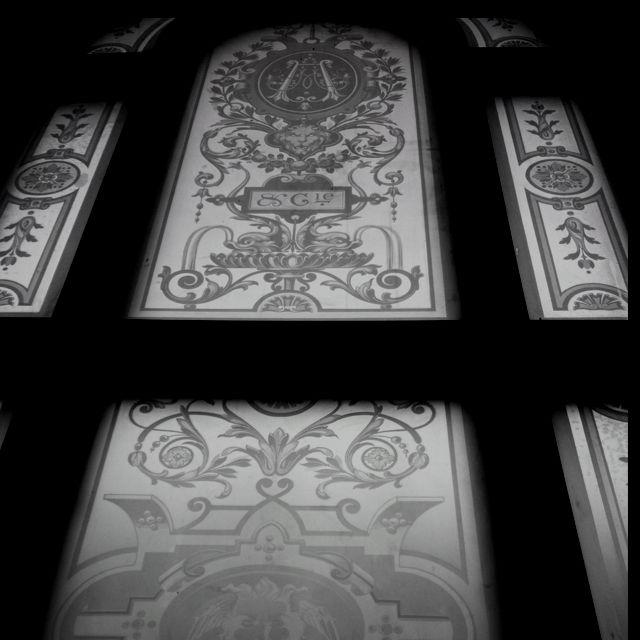 Trappuppgång med underbar arkitektur