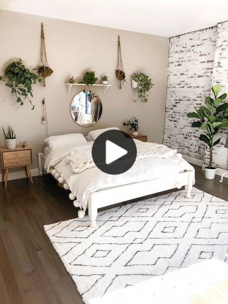 Photo of 25 mysiga bohemiska sovrumsidéer för din första lägenhet –     Jag gillar bo…