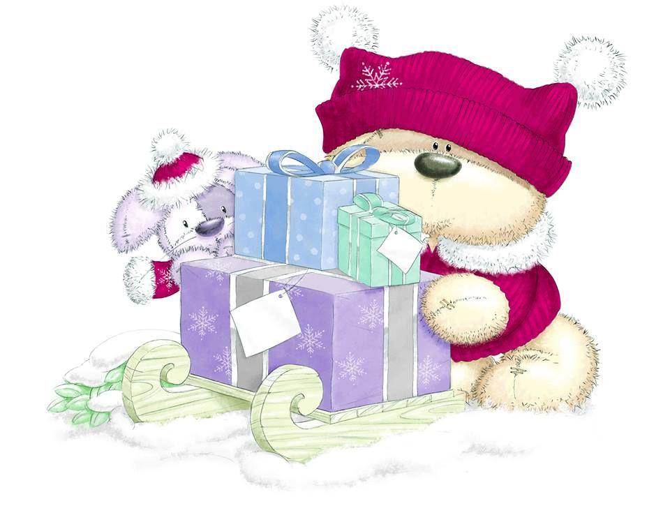 Fizzy Moon ️ Teddy Bear ️ Christmas