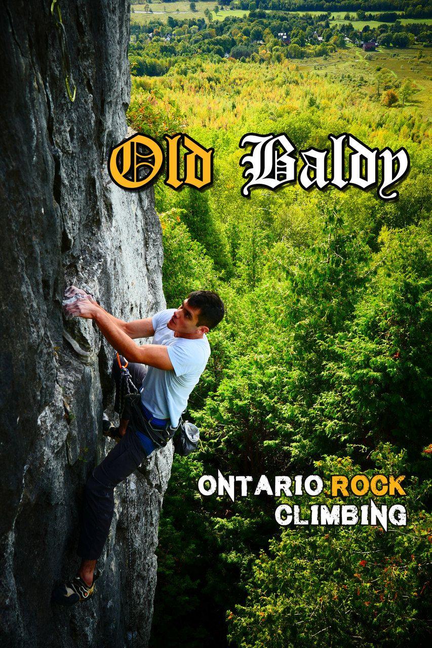New routes added to Old Baldy, Ontario today. Go send em! #oldbaldyclimbing #rakkupguidebookupdates #rakkup