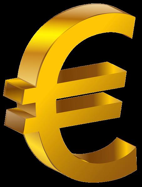 Transparent Gold Euro PNG Clipart Clipart, Decoración de