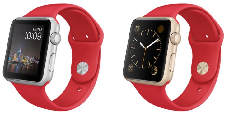 Apple Watch: dos modelos sport en Año Nuevo chino