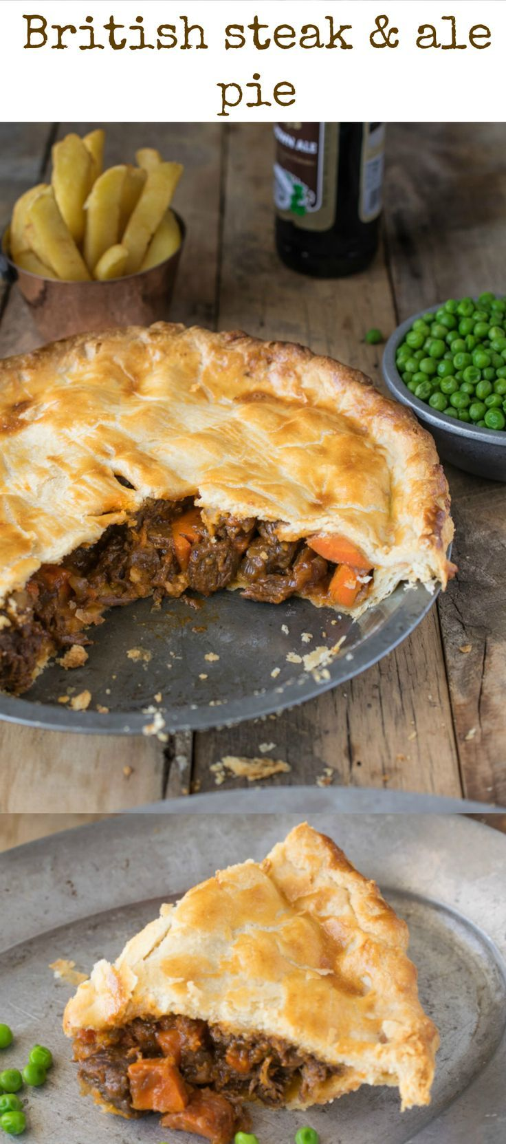 Steak and ale pie is a british classic found at most pubs around steak and ale pie is a british classic found at most pubs around england serve it with pea and chips for a perfectly comforting meal recipes to try forumfinder Images