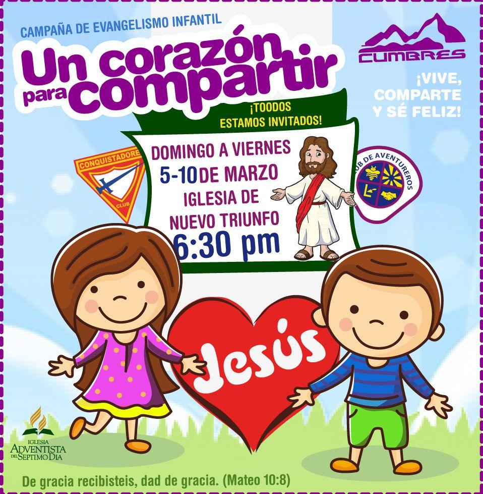 Diseño Para Campaña De Evangelismo Infantil By Aracely