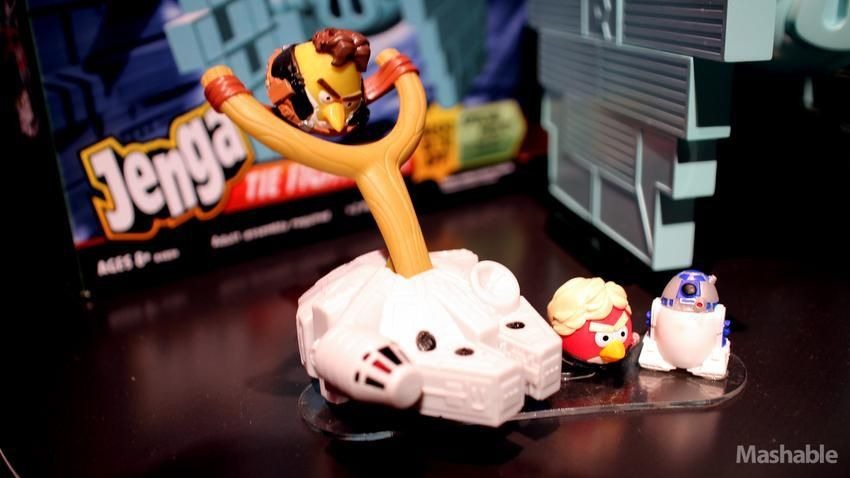 Angry Birds Star Wars Toys : Check out the new angry birds star wars merchandise pics